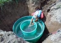 Įrenginio užpildymas vandeniu, orientavimas