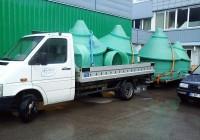 Įrenginių transportavimas